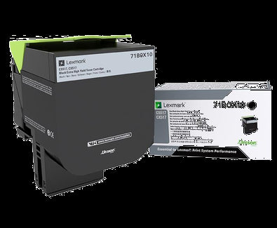 Lexmark CS/CX 517 Black Extra-High-Yield Toner Cartridge