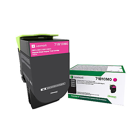 Lexmark CS/CX 317, 417, 517 Magenta Return Program Toner Cartridge