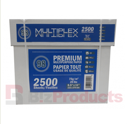 "MultiPlex® 98 (8.5"" x 11"") 2,500 Sheet Smart Pak"