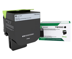 Lexmark CS/CX 517 Black Extra-High-Yield Lexmark Return Program Toner Cartridge