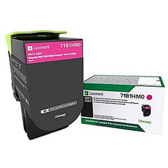Lexmark CS/CX 417, 517 Magenta High-Yield Return Program Toner Cartridge
