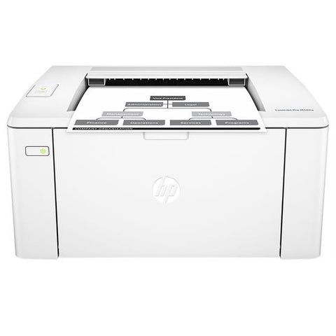 HP LASERJET PRO M102W - LASER PRINTER - MONOCHROME - LASER - UP TO