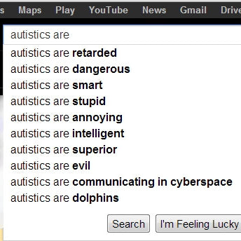 Autistics Should...