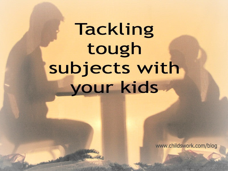 Tackling tough subjects using play therapy