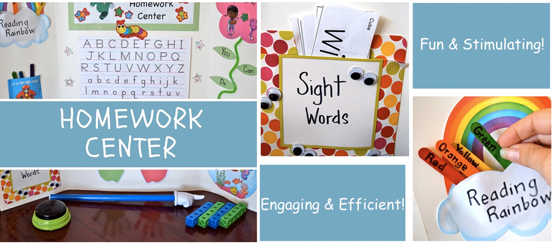 How To Create The Perfect Homework Center by Cristina Margolis