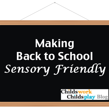 Making Back to School Sensory Friendly