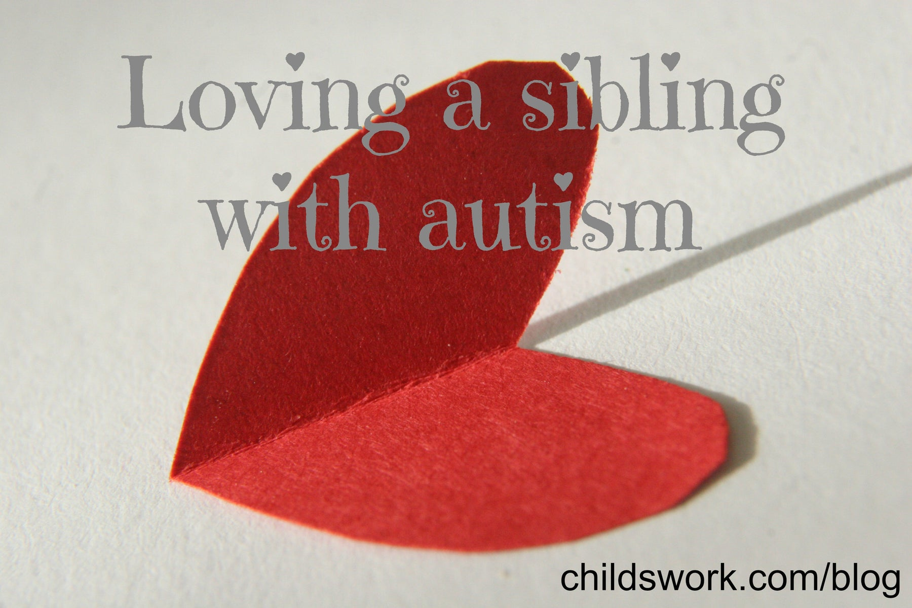 Having a sibling with autism
