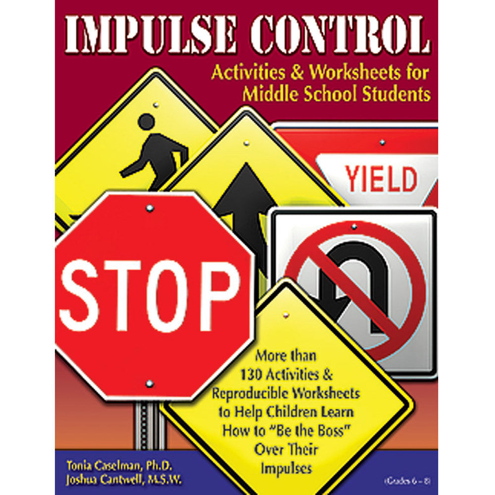 Impulse Control Book Middle School with CD product image