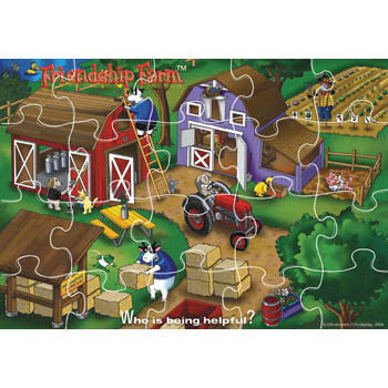 Who is Being Helpful? Friendship Farm Puzzle Game product image