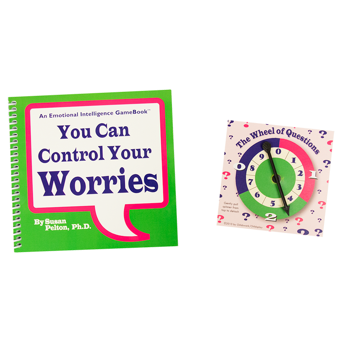 You Can Control Your Worries Spin & Learn! Game Book