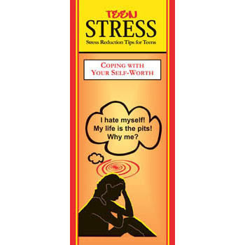 Teen Stress Pamphlet: Coping with Your Self Worth 25 pack product image