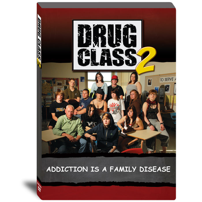 Drug Class 2: Addiction is a Family Disease DVD product image