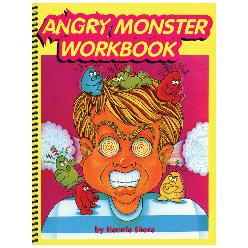 Workbooks anger workbook : The Angry Monster Workbook & CD Childsplay/Childswork