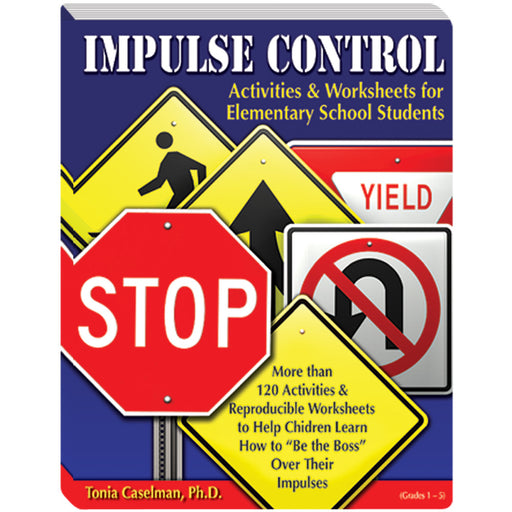 Impulse Control Book Elementary School product image
