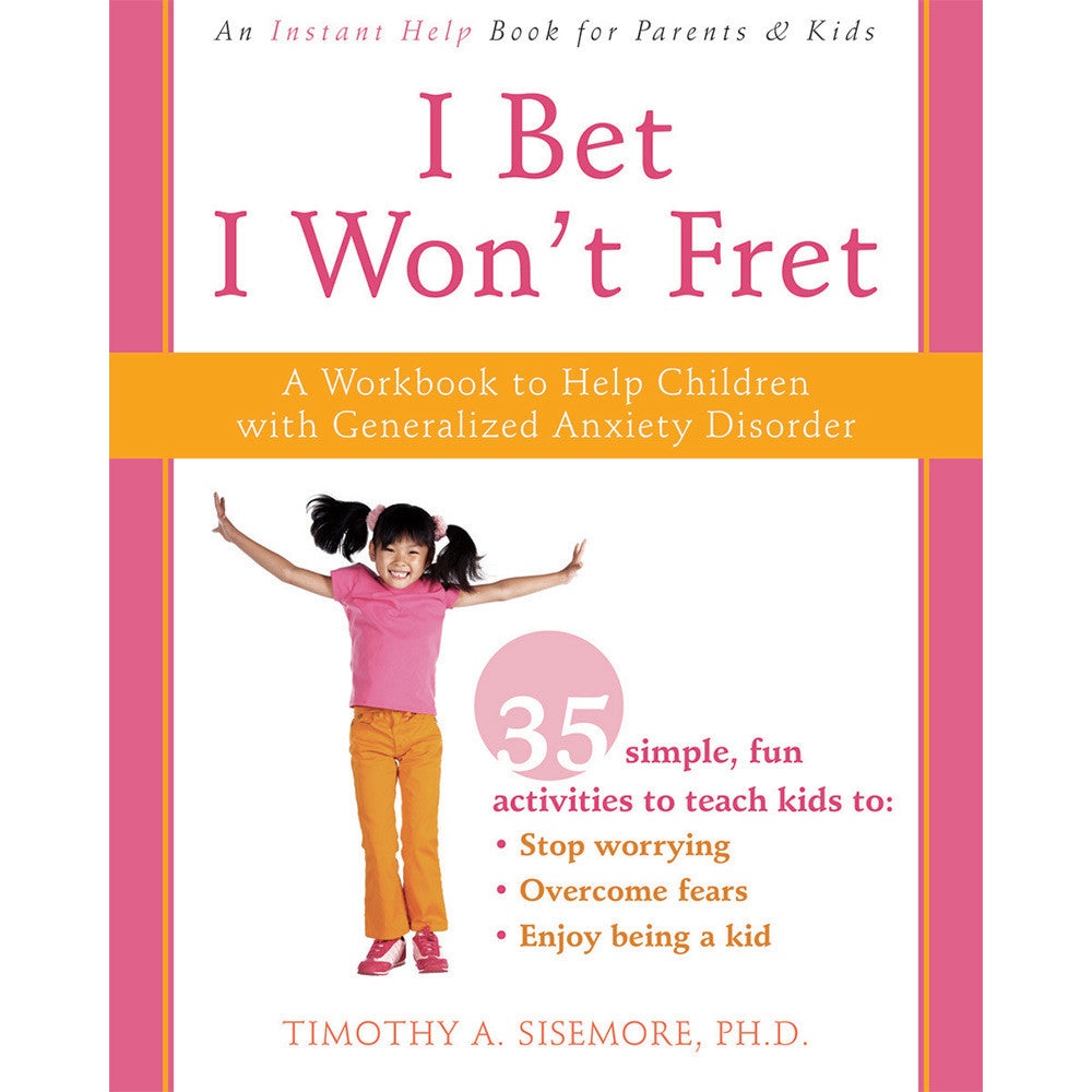 I Bet...I Won't Fret Workbook product image
