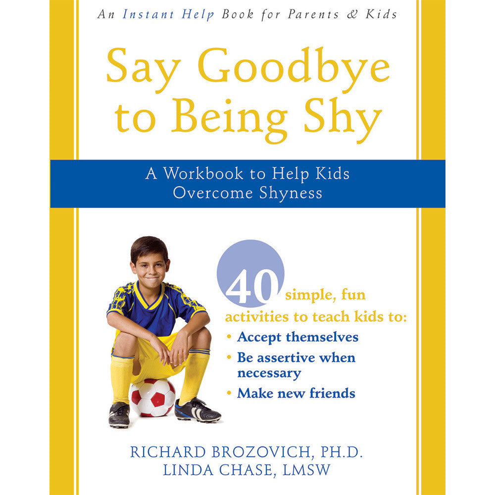 Say Goodbye To Being Shy Workbook product image