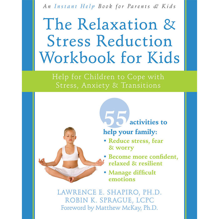 The Relaxation & Stress Reduction Workbook product image