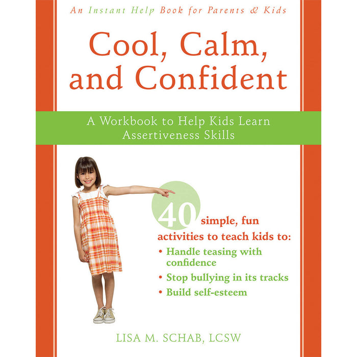 Cool, Calm, and Confident workbook product image
