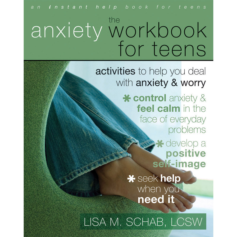 The Anxiety Workbook for Teens product image