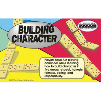 Play 2 Learn Dominoes: Building Character product image