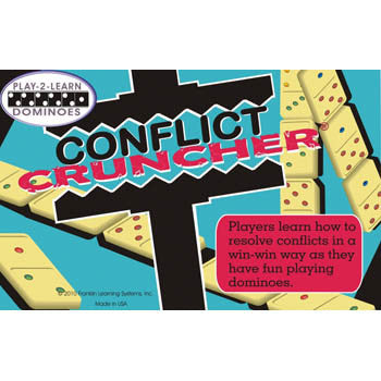 Play 2 Learn Dominoes: Conflict Cruncher product image
