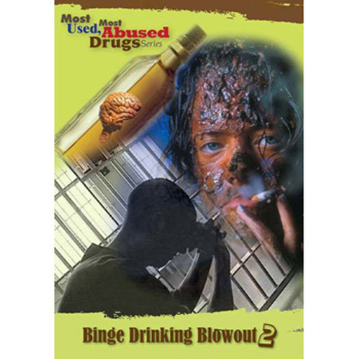 Most Used, Most Abused Drugs: Binge Drinking Blowout Show 2.0 DVD product image