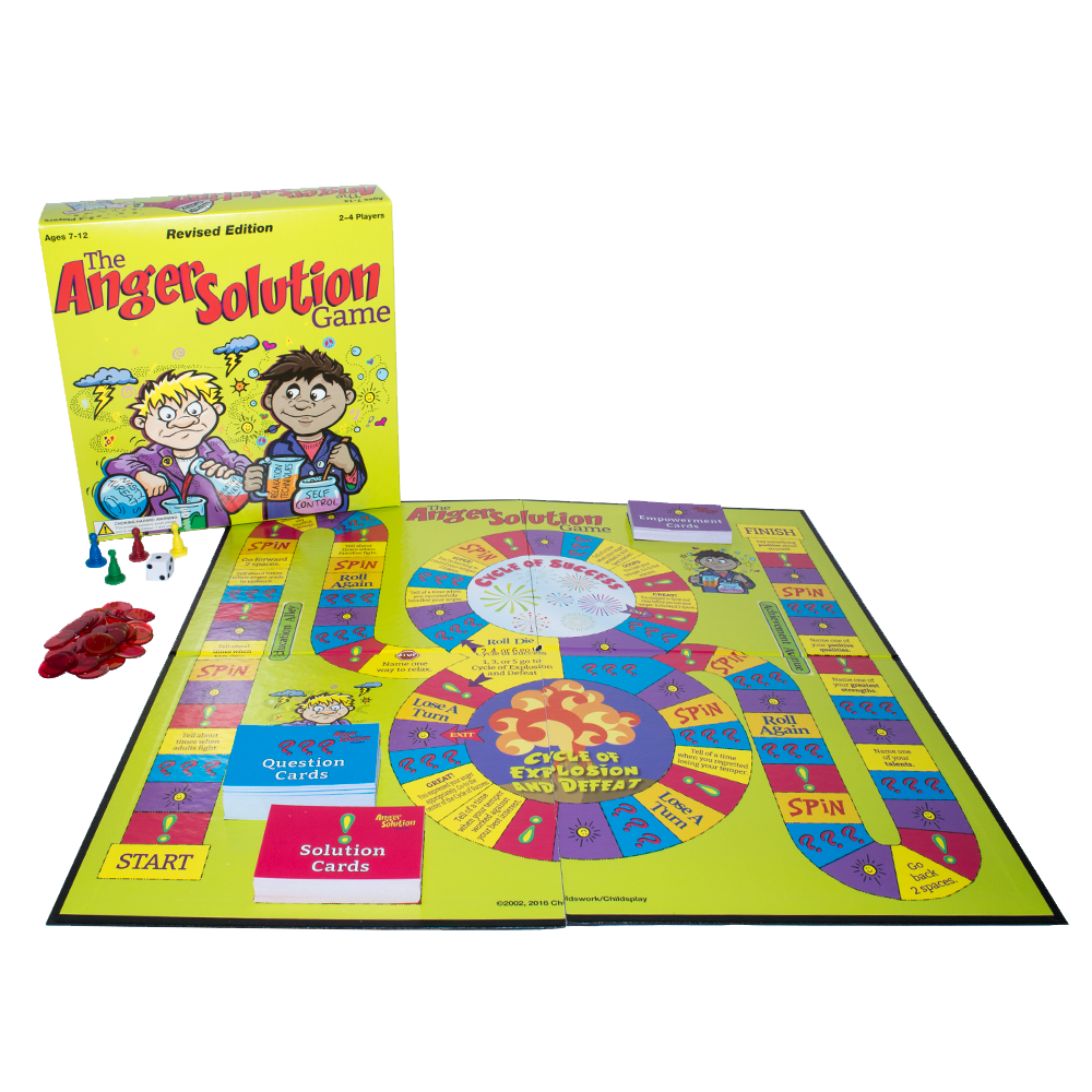 The Anger Solution Board Game: Revised Edition product image