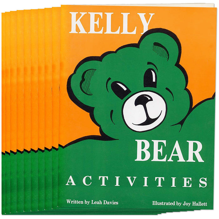 Kelly Bear Activities Book, Set of 10 product image