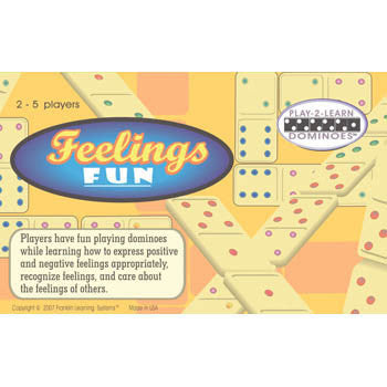 Play 2 Learn Dominoes on Feelings Fun Game product image