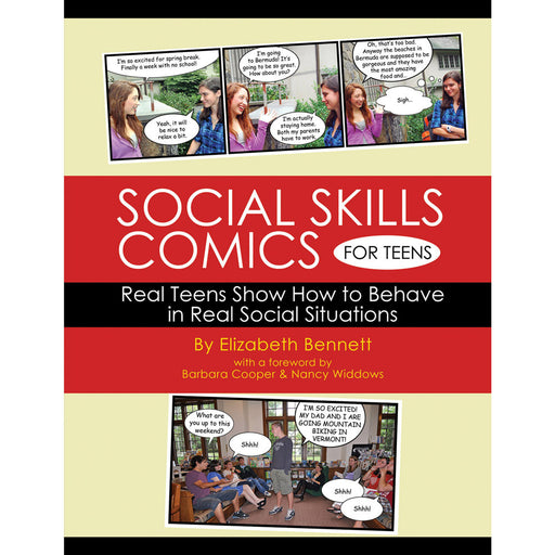 Social Skills Comics For Teens Workbook product image