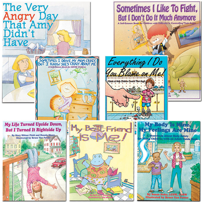 Bibliotherapy Starter Set of 7 Books product image
