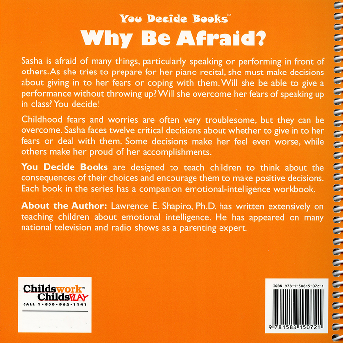 You Decide About Dealing With Fears Book & Workbook