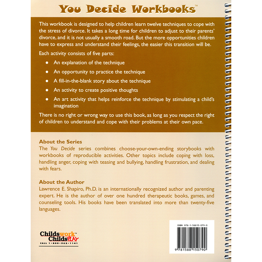 Workbooks therapy workbooks : Activity Books and Therapy Workbooks | Childswork/Childsplay Page 3
