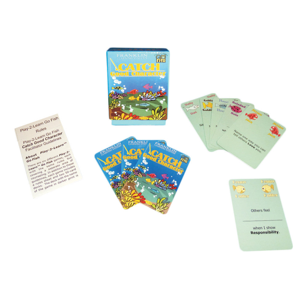 Play 2 Learn Go Fish: Catch Good Character Card Game product image