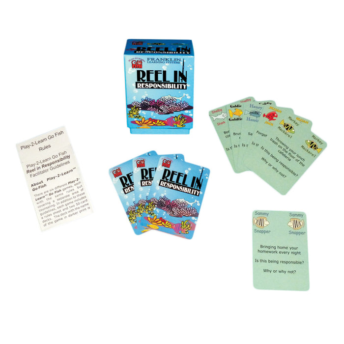 Play 2 Learn Go Fish: Reel In Responsibility Card Game product image
