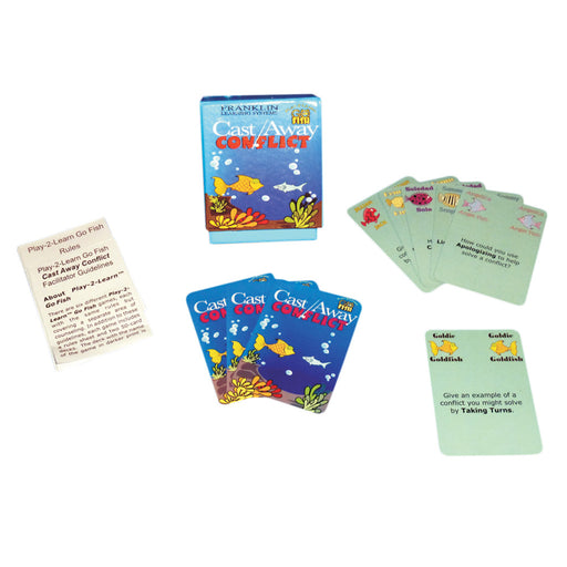 Play 2 Learn Go Fish: Cast Away Conflict Card Game product image