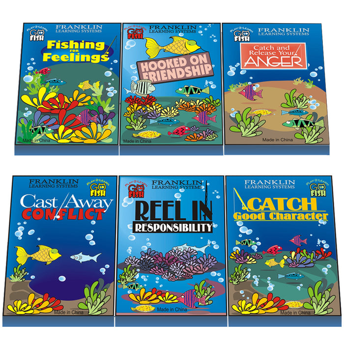Play 2 Learn Go Fish: Set of 6 Card Games product image