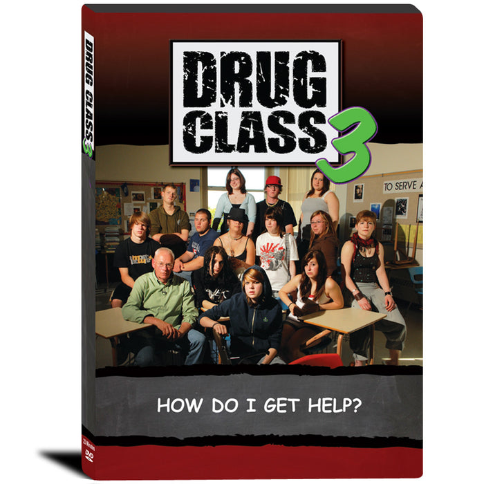 Drug Class 3: How Do I Get Help? DVD product image