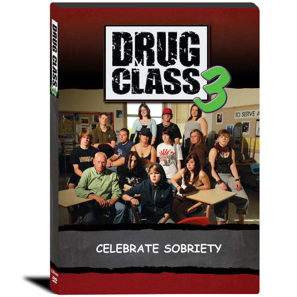 Drug Class 3: Celebrate Sobriety DVD product image