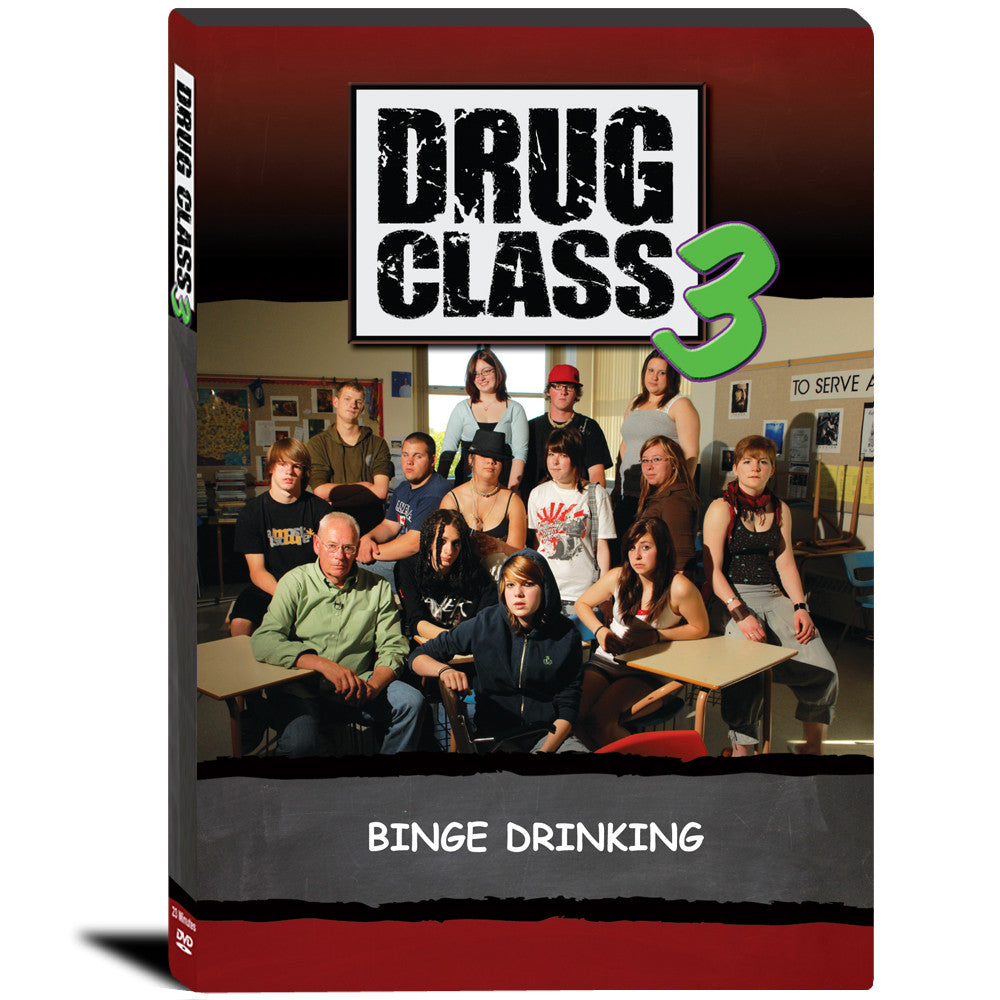 Drug Class 3: Binge Drinking DVD product image