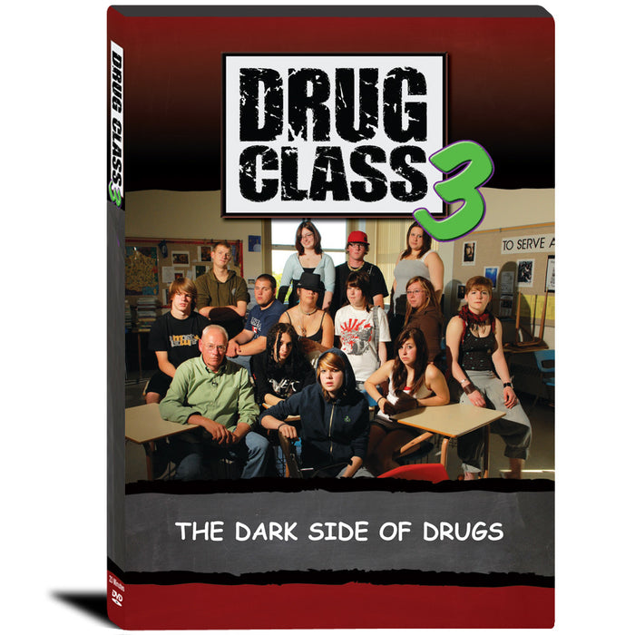 Drug Class 3: The Dark Side of Drugs DVD product image