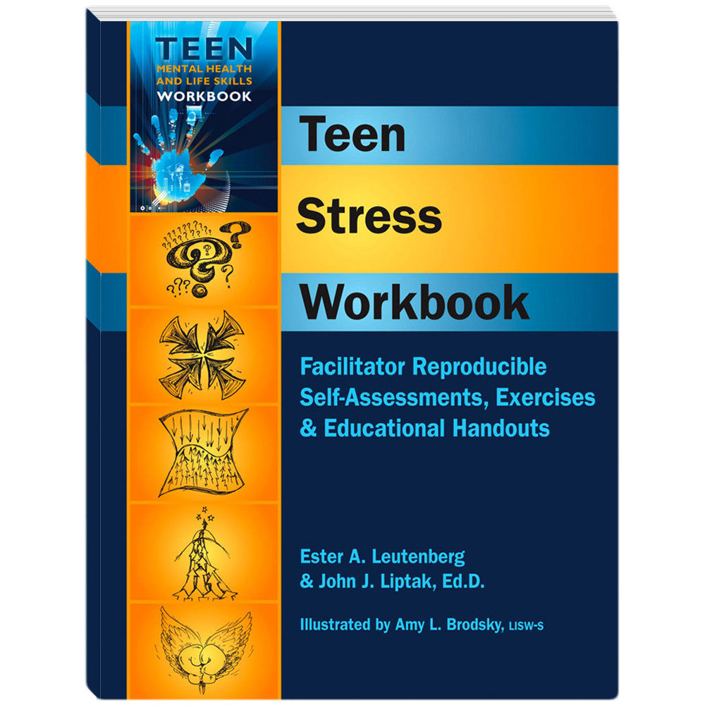 Teen Stress Workbook product image