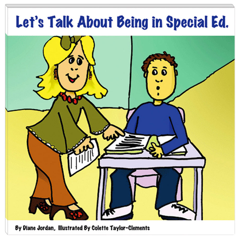 Let's Talk About Being in Special Ed. Book product image