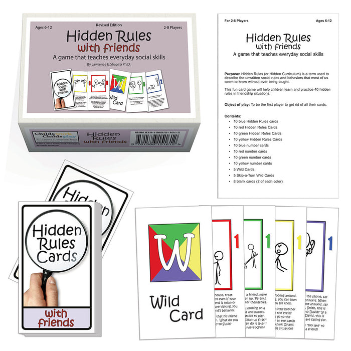 Hidden Rules with Friends Card Game
