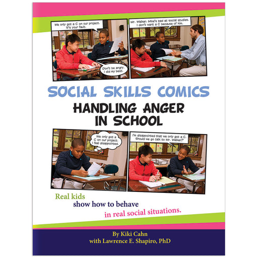 Social Skills Comics for Kids: Handling Anger in School product image