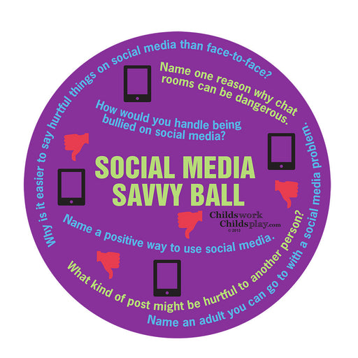 Social Media Savvy Ball product image