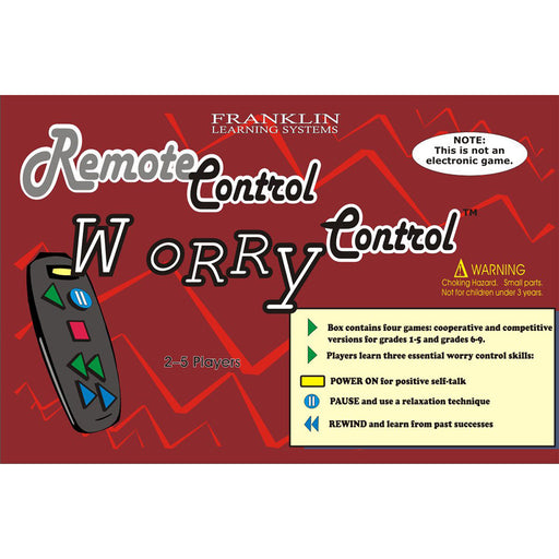 Remote Control Worry Control Game product image