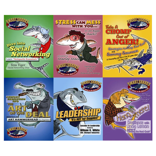 Smart Sharks Set of 6 Card Games product image