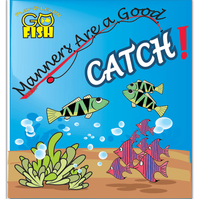 Play 2 Learn Go Fish: Manners Are a Good Catch Card Game product image