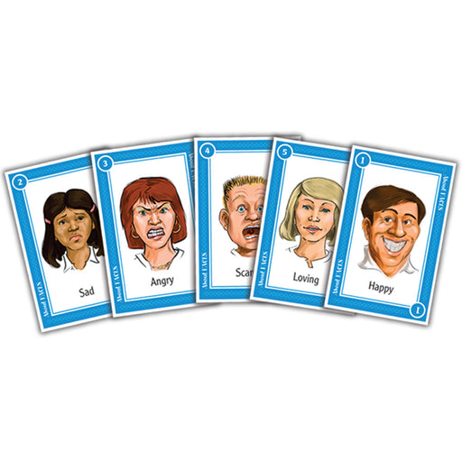 About Faces Card Game product image
